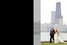 Leah and Erik Wedding Album / Chicago Wedding #TheAllertonHotelChicago and #NorthBeach #KinzieBridge