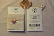 convites para casamento na praia