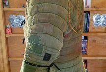Textile armours
