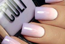 ombre  nagels