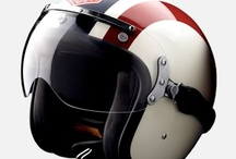 Cafe racer helmets / Helmets. Café racer helmets, in fact. Stay classy while riding your bike.