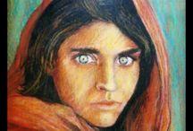 Pastel / Afgan girls