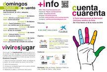 Programa y cartel 2016 / Programas y cartel de Cuentacuarenta 2016.