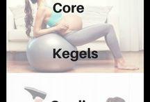 pregnant workouts