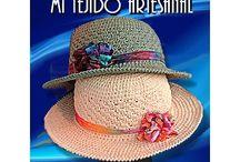 sombreros al crochet