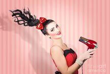 Settings for Hair & Make-Up