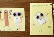 Postkarten DIY