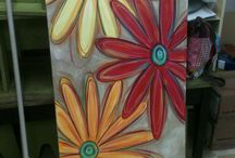 Painting on Canvas.