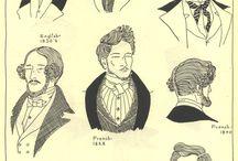 1800 menn hår