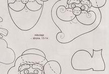 Natal / Moldes e ideias para o natal