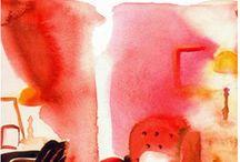 Feltrinelli, cover book, watercolor illustration / A cover book for Feltrinelli, watercolor illustration, interior design