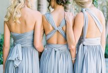 Bridesmaids / Dresses, gift ideas, photo ideas, etc.
