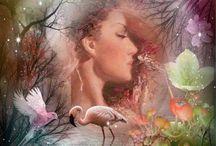 KrásnoBeautiful / Beautiful and charming girls fantasy