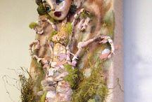 Art work sculptures / Mix media art