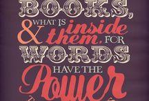 BOOKS & WORDS...