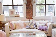 L I V I N G  A R E A / gorgeous in house design!