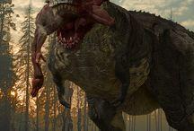 Dinosaur Art concepts