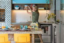Kolory kuchnia salon jak u mnie moze być_ żółty nieb.
