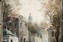 цветопись петербурга