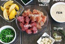 4. Dinner foods