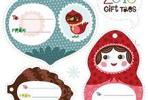 Christmas - Printables/Packaging