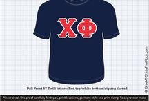 CHI PHI T-Shirts That Rock / #CHIPHI / by Greek T-Shirts That Rock