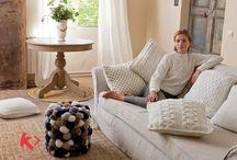 Home is where Katia is / Modelos para hogar de la revista Home Otoño·Invierno   Autumn·Winter Home magazine models