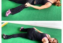 Static Cool-Down / Let's stretch it out! {Post Workout Exercises}