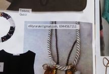Jewelry designed by Elli lyraraki!! in magazines