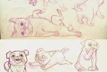 bulldoge character design