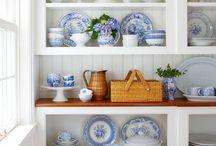 Blue and White China inspiration