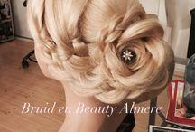 Bruidskapsels geheel opgestoken / Prachtige Bruidskapsels geheel opgestoken door Bruid en Beauty Almere.