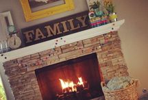 Mantle decor / Home, living, decoration / by Becky Sifuentes