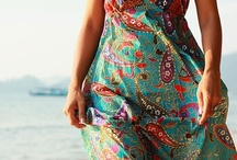 My style boho chic / i love ethnic clothing, those of the seventies, i love colors and green is my favorite