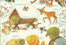 állatok készülődése a télre