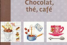 Chocolat, tea and coffee, cross stichhhhhh!!!