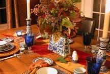 Seasonal Tablescapes