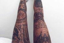 My leg tattoo ideas