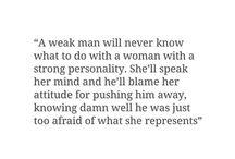 Weak men