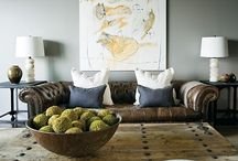 Masculine Living Room Design