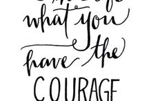 One Little Word: COURAGE