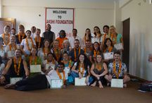 Graduation Ceremony of 200 Hour Yoga Teacher Training Course / Many Many Congratulations to our all new Registered Yoga Teacher at Akshi Yogashala School, Rishikesh India.