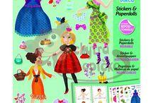 Kreativní sady pro dívky Djeco