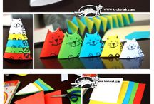 origami kit gattini