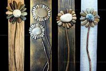 λουλουδια πετρες