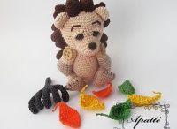 My Crochet Toys / Mnou vytvořené návody na háčkování a odkaz na eshop. Návody jsou česky (lze použít překladač - obsahují více symbolů, než psaného textu)
