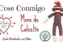 Monos de Calcetín - Sock Monkeys