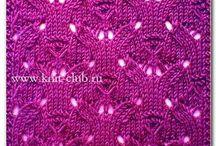 Knitting patterns and charts