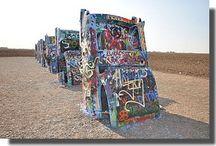 Arts / L'art au bord de la route