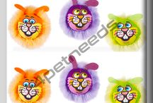 Buy Cat Dust Bunnies Cat Toy from 4petneeds.com / #Fat_Cat_Dust_Bunnies_Cat_toy are soft 'n fluffy, they're the perfect mouthful for your house skittern' cat. Contains go like a bullet around the Room natural catnip.